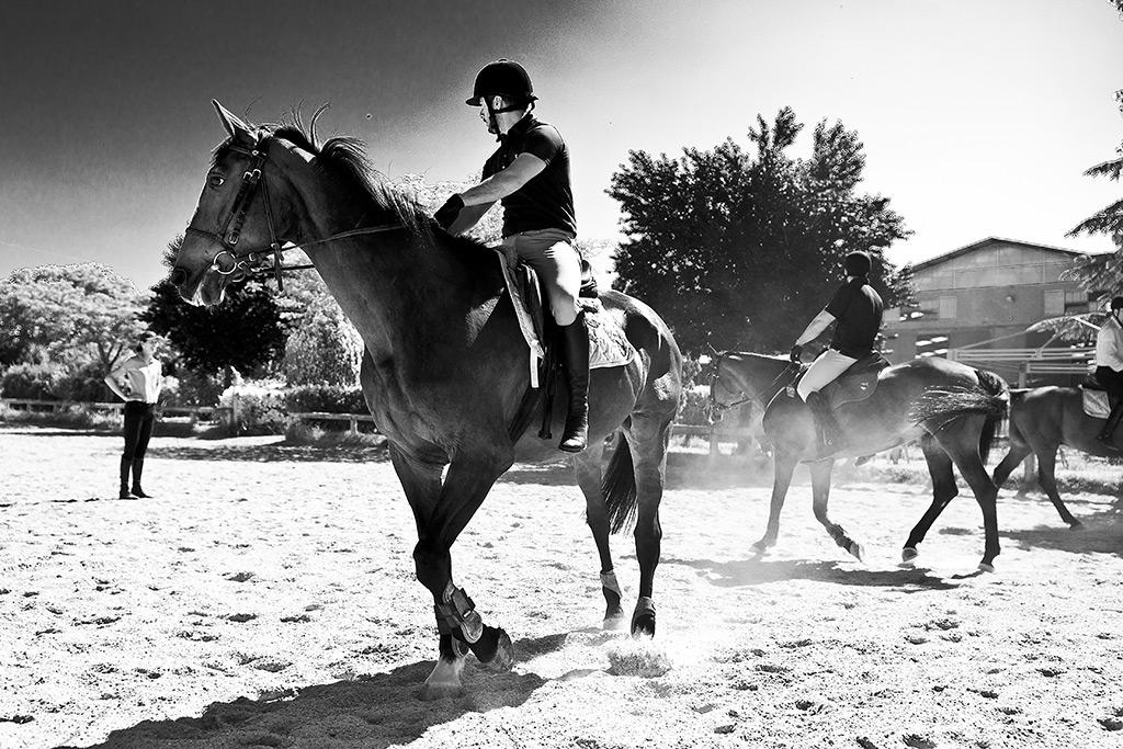 scuola cavalli tor carbone roma